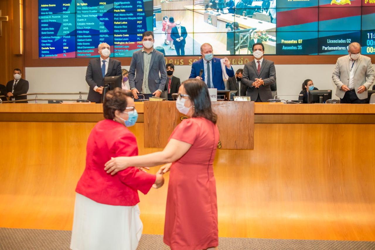 Betel Rodrigues e Socorro Waquim deixaram a condição de suplentes e passaram a ser titulares de mandatos na atual legislatura